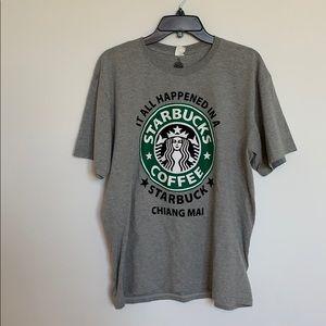 Men's Starbucks Shirt